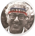 Bernie! Sanders Headband Celluloid