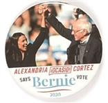 Sanders and Ocasio-Cortez