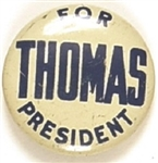 Socialist Thomas for President