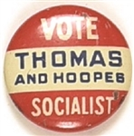 Thomas and Hoopes Socialist Party