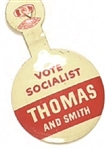 Thomas and Smith Vote Socialist Tab