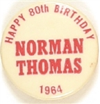 Happy 80th Birthday Norman Thomas