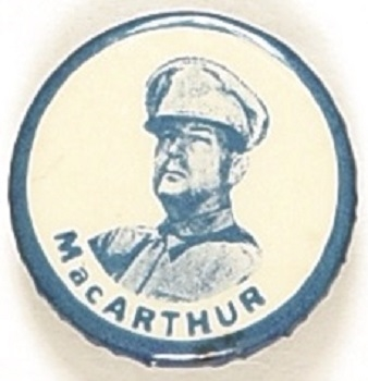 MacArthur Blue, White Celluloid
