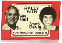 Rally With Hall and Davis Communist Party