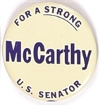 McCarthy for a Strong U.S. Senator