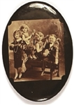 Little People Family Sepia Mirror