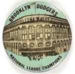 Brooklyn Dodgers Ebbets Field