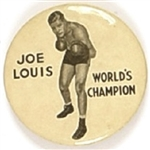 Joe Louis Worlds Champion