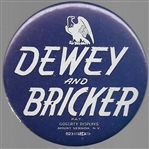 Dewey and Bricker Large Celluloid
