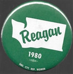 Reagan 1980 Snohomish County, Washington