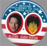 Gore, Harry Potter Wizardry at the White House