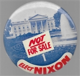 Nixon White House Not for Sale