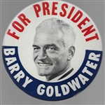 Goldwater for President 6 Inch Pin