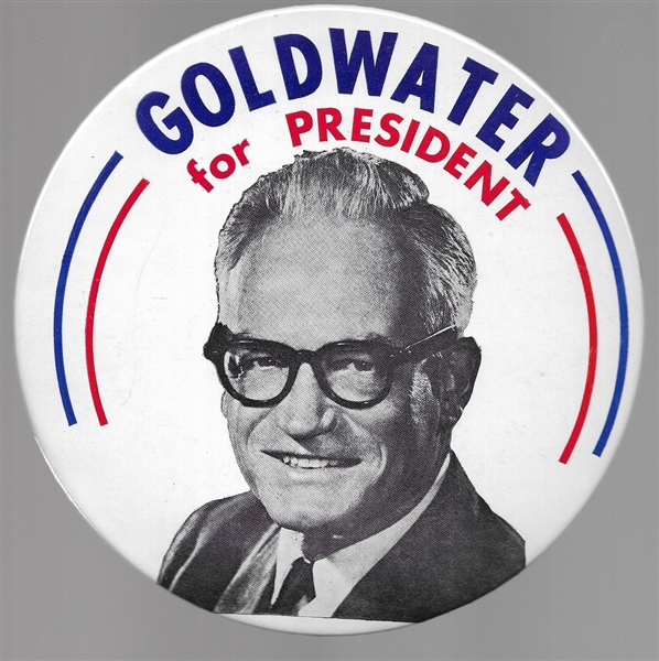 Barry Goldwater 7 Inch Celluloid