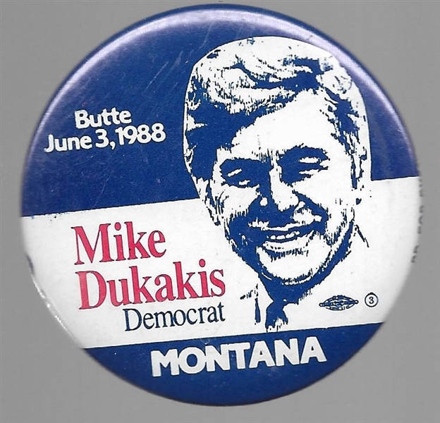 Mike Dukakis Butte, Montana