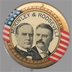 McKinley and Roosevelt 1 1/4 Inch Jugate