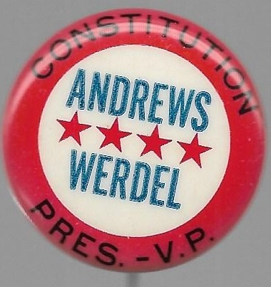 Andrews, Werdell Constitution Party
