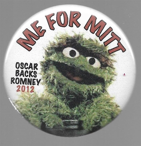 Oscar the Grouch Me for Mitt