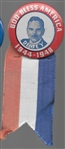 Dewey Gold Bless America Pin and Ribbon