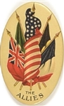 World War I Allied Flags Mirror