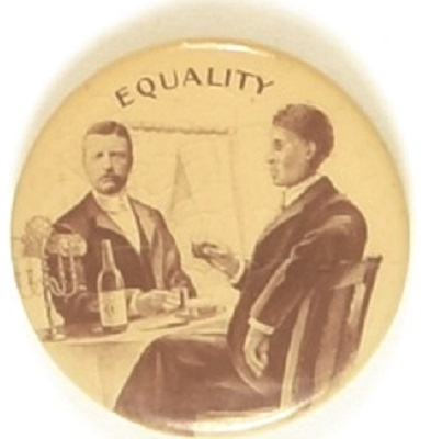 Roosevelt, Booker T. Washington Equality Pin