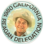 Reagan California Delegation Pin