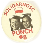 Reagan, Bush Solidarnosc Punch #8: Solidarity!