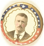 Theodore Roosevelt Colorful Stars Celluloid