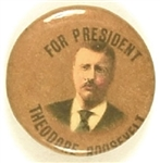Theodore Roosevelt Gold Celluloid