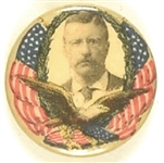 Theodore Roosevelt Eagle and Flag