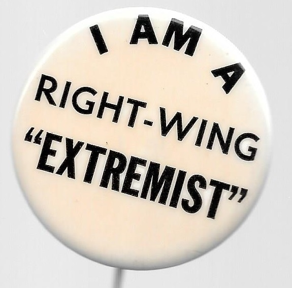 I am a Right Wing Extremist