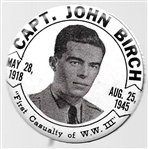 Capt. John Birch First Casualty of World War III