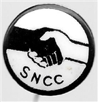 SNCC Civil Rights Pin