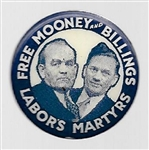 Mooney and Billings Labor's Martyrs