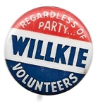 Willkie Volunteers Regardless of Party