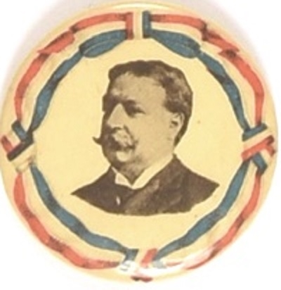 Taft Scarce Celluloid with Classic Ribbon Design