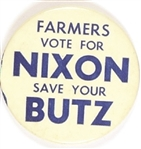 Farmers Vote for Nixon, Save Your Butz