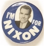 Im for Nixon Early Photo