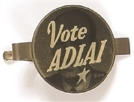 Vote Adlai Flasher Tie Clasp