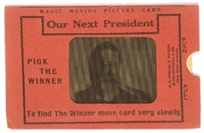Taft, Wilson, Roosevelt Flasher Trade Card