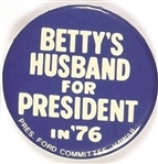 Bettys Husband for President Hawaii