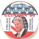 Clinton Nevada Delegation Pin