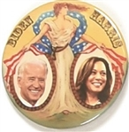 Biden and Harris Lady Liberty