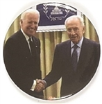 Biden and Shimon Peres