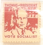 Norman Thomas Vote Socialist Stamp