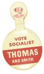 Thomas and Smith 1948 Socialist Party Tab