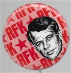 Robert Kennedy 1968 Art Fair Pin
