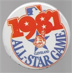 Cleveland Indians 1981 All Star Game