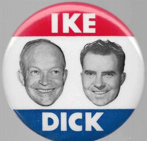 Ike and Dick Floating Heads Jugate