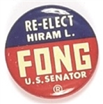 Re-Elect Fong Senator Hawaii